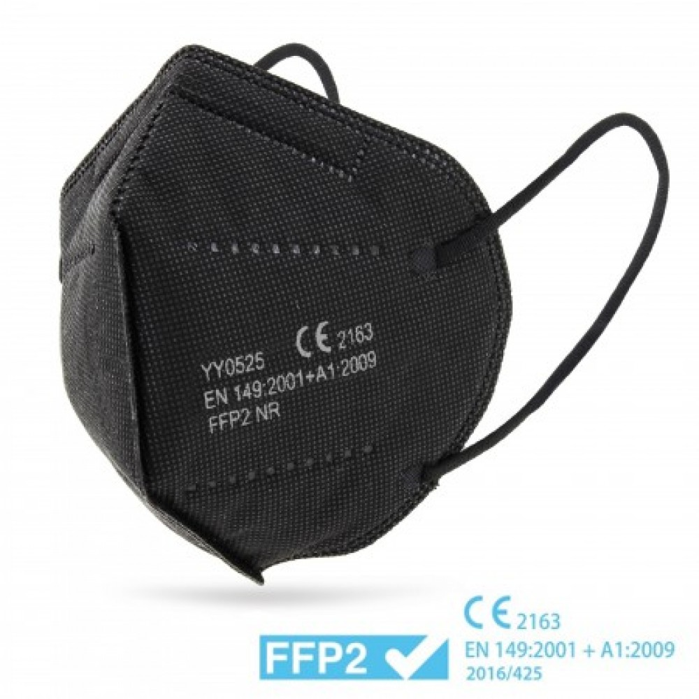 Μάσκα KN95 Υψηλής Προστασίας FFP2 μαύρη   1τμχ Bestsellers